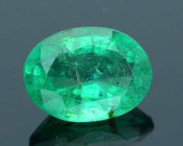 Top Grade 1.11 ct Zambian Emerald SKU-30