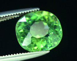 Great Luster 3.30 ct Green Apatite