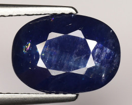 3.65 CT BLUE SAPPHIRE TOP QUALITY LUSTER GEMSTONE S4