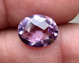 CHECKERED CUT AMETHYST GOOD QUALITY 100% NATURAL GEMSTONE VA3293