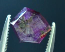 Top Garde 2.95 ct Corundum Kashmir Sapphire Trapiche