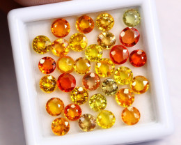 8.40cts Natural Fancy Colour Sapphire Lots / BIN334