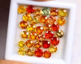 8.40cts Natural Fancy Colour Sapphire Lots / BIN335