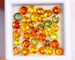 9.03cts Natural Fancy Colour Sapphire Lots / BIN345