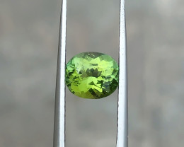 1.25 Ct Natural Greenish Transparent Tourmaline Gemstone