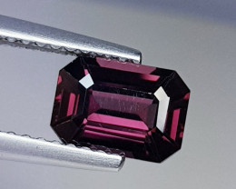 1.38 ct AAA Grade Gem  Octagon Cut Natural Pinkish Pink Spinel