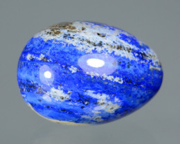 625 Cts Polished Lapis Lazuli Healing Egg From Afghanistan