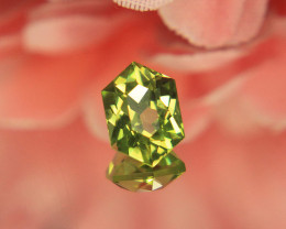 Master Cut Green Peridot Gemstone Cut by Master Cutter