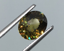 1.57 Carat VS Demantoid Garnet Precision Cut and Polish Exquisite Rare !