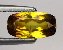 0.88 Ct Natural Sphene Sparkiling Luster Gemstone. SN 01