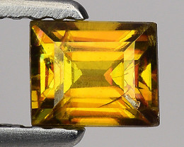 0.66 Ct Natural Sphene Sparkiling Luster Gemstone. SN 04
