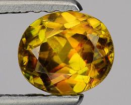 0.84 Ct Natural Sphene Sparkiling Luster Gemstone. SN 15