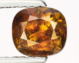 0.92 Ct Natural Sphene Sparkiling Luster Gemstone. SN 24