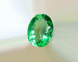 $127 Natural 1.27 ct Zambian  Emerald Certified!