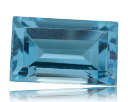 12 ct Sky Blue Topaz --$1 No Reserve Auction