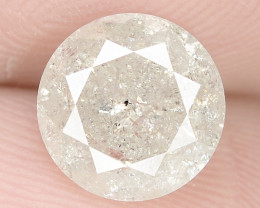 1.57 Cts UNTREATED ICE WHITE COLOR NATURAL LOOSE DIAMO