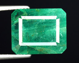 7.33 CT EMERALD TOP COLOR QUALITY ZAMBIA EM4