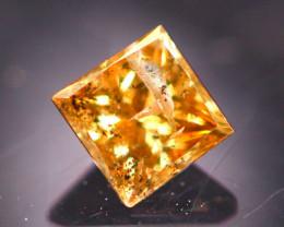 Diamond 0.24Ct Natural Princess Cut Fancy Color Diamond 31CF48