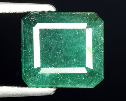 5.13 CT EMERALD TOP COLOR QUALITY ZAMBIA EM5