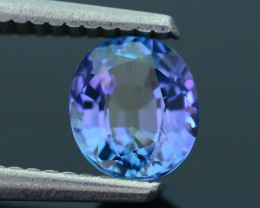AAA Grade 1.12 ct Tanzanite eye catching Color SKU.18