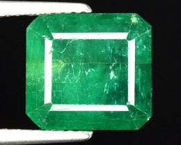 5.95 CT EMERALD TOP COLOR QUALITY ZAMBIA EM8