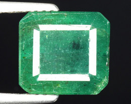 5.14 CT EMERALD TOP COLOR QUALITY ZAMBIA EM11