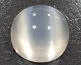13.66 ct Moonstone Cat´s Eye Round 14.2mm- Double Eye (SKU 33)
