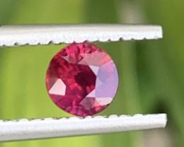 GFCO Certified 0.60 Carat Ruby Gemstones