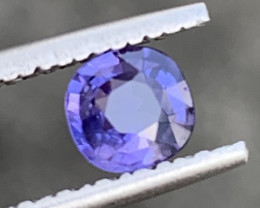 GFCO Certified 0.58 Carats Color Change Violet Sapphire Gemstones