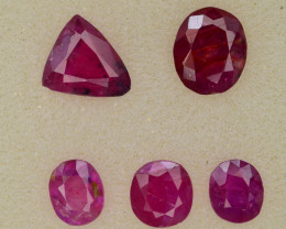 3.60 ct Natural Ruby ~ Jagdalek Afghanistan ~ Lot ~ k
