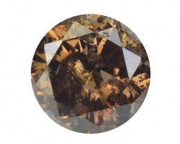 Natural Brown Diamond - 0.16 ct