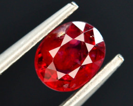 Top Color 0.65 ct Red Color Spinel Untreated/Unheated ~Burma ~ AD