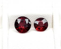 1.79Crt Rhodolite Garnet  Natural Gemstones JI53
