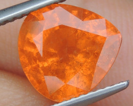 "4.44cts ""Neon"" Glowing Orange Garnet,  Calibrated size"