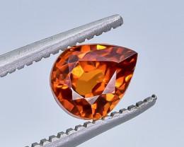 1.06 Crt Natural Spessartite Garnet Faceted Gemstone.( AB 19)