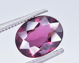 2.29 Crt Natural Rhodolite Garnet Faceted Gemstone.( AB 19)