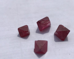 Specimen grade of Burmese red spinel