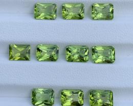 15.71 Carats  Peridot Gemstones Parcels