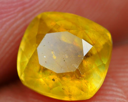 2.35 CRT BEAUTY TRANSLUCENT YELLOW SAPPHIRE FACETED-