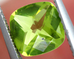 1.20 CTS GREEN PERIDOT FACETED    CG-2756