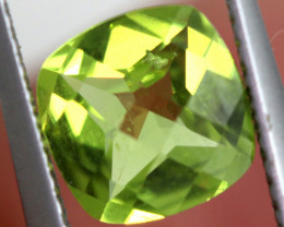 1.15 CTS GREEN PERIDOT FACETED   CG-2757