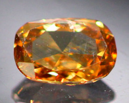Diamond 0.16Ct Natural Cognac Color Fancy Diamond 01CF13