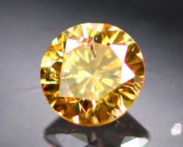 Diamond 0.20Ct Natural Brilliant Round Cut Fancy Color Diamond 01CF29