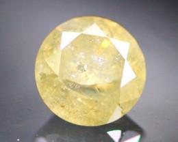 Diamond 0.37Ct Natural Grey Color Fancy Diamond 01CF32