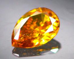 Diamond 0.10Ct Natural Orange Color Fancy Diamond 01CF33