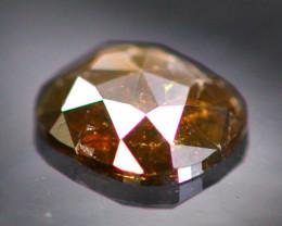 Diamond 0.69Ct Natural Brown Color Fancy Diamond 01CF38