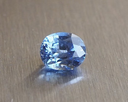 1.15ct Unheated blue sapphire from Myanmar