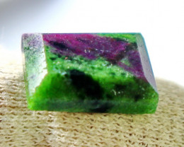 20.05 Ct Natural - Unheated  Ruby Var Zoisite  Gemstone