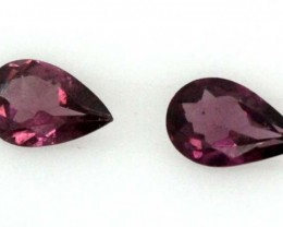 RHODALITE GARNET FACETED 0.40 CTS PG-478