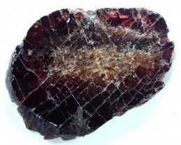 GARNET NATURAL BEAD DRILLED 25.35 CTS  NP-783